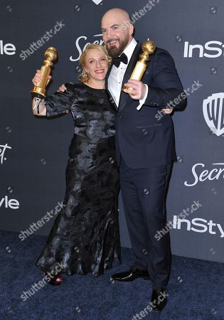 Arianne Sutner, Chris Butler. Arianne Sutner, left, and Chris Butler arrive at the InStyle and Warner Bros. Golden Globes afterparty at the Beverly Hilton Hotel, in Beverly Hills, Calif