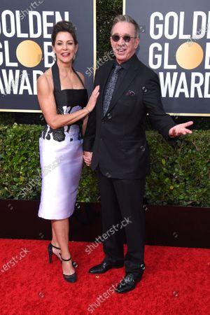 Stock Photo of Jane Hajduk and Tim Allen