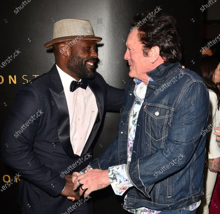 Jimmy Jean-Louis and Michael Madsen