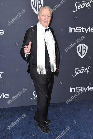 Jon Voight arrives at the InStyle and Warner Bros. Golden Globes afterparty at the Beverly Hilton Hotel, in Beverly Hills, Calif