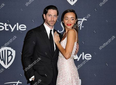 Iddo Goldberg, Ashley Madekwe. Iddo Goldberg, left, and Ashley Madekwe arrive at the InStyle and Warner Bros. Golden Globes afterparty at the Beverly Hilton Hotel, in Beverly Hills, Calif