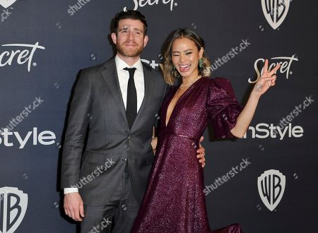 Bryan Greenberg, Jamie Chung. Bryan Greenberg, left, and Jamie Chung arrive at the InStyle and Warner Bros. Golden Globes afterparty at the Beverly Hilton Hotel, in Beverly Hills, Calif