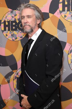 Alan Ruck arrives at the HBO Golden Globes afterparty at the Beverly Hilton Hotel, in Beverly Hills, Calif