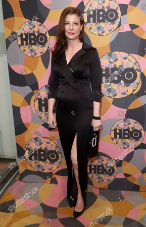 Robin Weigert arrives at the HBO Golden Globes afterparty at the Beverly Hilton Hotel, in Beverly Hills, Calif