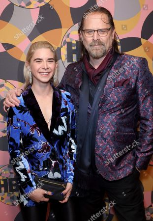 Stock Picture of Jeffrey Nordling, Miranda Nordling. Jeffrey Nordling, right, and Miranda Nordling arrive at the HBO Golden Globes afterparty at the Beverly Hilton Hotel, in Beverly Hills, Calif