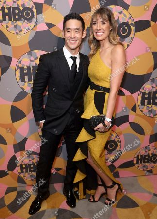 Mike Moh, Richelle Moh. Mike Moh, left, and Richelle Moh arrive at the HBO Golden Globes afterparty at the Beverly Hilton Hotel, in Beverly Hills, Calif