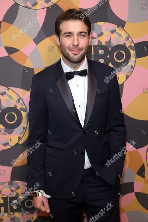 James Wolk arrives at the HBO Golden Globes afterparty at the Beverly Hilton Hotel, in Beverly Hills, Calif