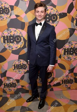 Stock Picture of Richard Elis arrives at the HBO Golden Globes afterparty at the Beverly Hilton Hotel, in Beverly Hills, Calif