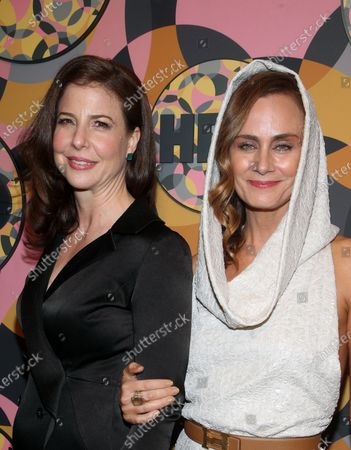Stock Picture of Robin Weigert, Diane Farr