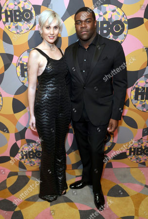 Nicole Boyd, Sam Richardson. Nicole Boyd, left, and Sam Richardson arrive at the HBO Golden Globes afterparty at the Beverly Hilton Hotel, in Beverly Hills, Calif
