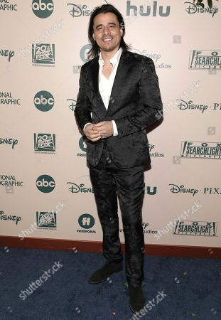Antonio Jaramillo arrives at the FX and Disney Golden Globes afterparty at the Beverly Hilton Hotel, in Beverly Hills, Calif