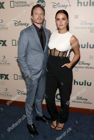 Matthew Alan, Camilla Luddington. Matthew Alan, left, and Camilla Luddington arrives at the FX and Disney Golden Globes afterparty at the Beverly Hilton Hotel, in Beverly Hills, Calif