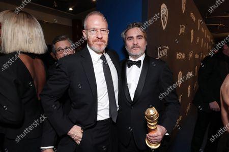 Toby Emmerich, Chairman, Warner Bros. Pictures Group, Joaquin Phoenix
