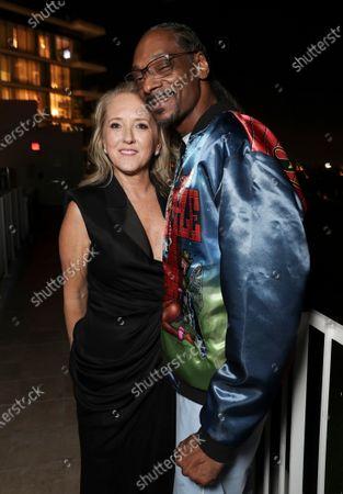 Jennifer Salke and Snoop Dogg