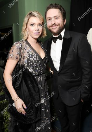 Mary Elizabeth Ellis and Charlie Day