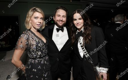 Mary Elizabeth Ellis, Charlie Day and Emily Hampshire