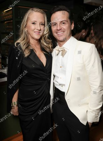 Jennifer Salke and Andrew Scott
