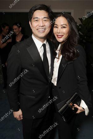 Albert Cheng and Dori Cheng