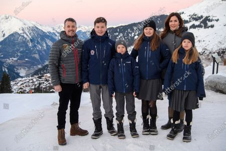 Prince Christian, Princess Isabella, Prince Vincent and Princess Josephine Crown Prince Frederik Crown Princess Mary