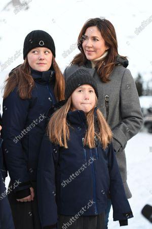 Crown Princes Mary, Princess Josephine, Princess Isabella