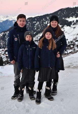 Prince Christian, Prince Vincent, Princess Isabella, Princess Josephine