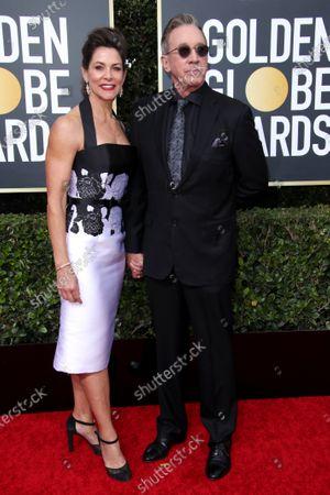 Jane Hajduk and Tim Allen