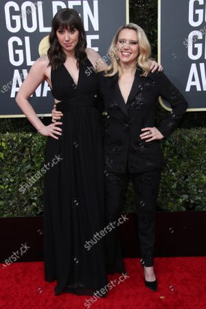 Emily Lynne and Kate McKinnon