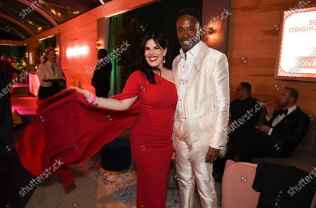 Stock Picture of Alexis Martin Woodall, Billy Porter