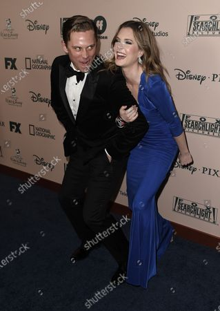 Stock Picture of Billy Magnussen, Meghann Fahy