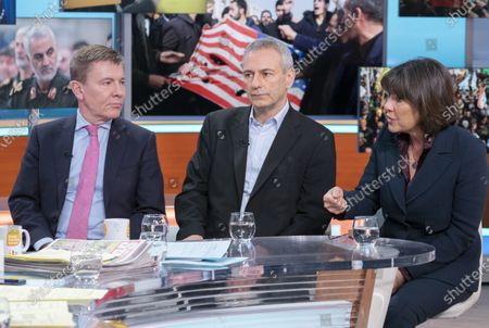 Andrew Pierce, Kevin Maguire and Christiane Amanpour
