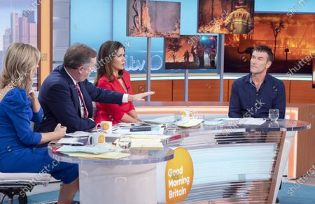 Editorial image of 'Good Morning Britain' TV show, London, UK - 06 Jan 2020