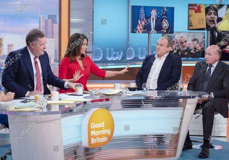 Piers Morgan, Susanna Reid, Ed Davey and Lord Dannatt