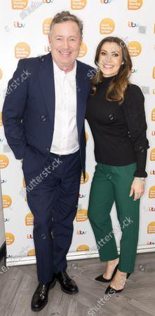 Piers Morgan and Kym Marsh