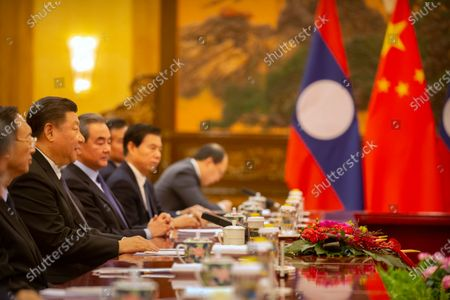 Editorial picture of Laotian Prime Minister Sisoulith in Beijing, China - 06 Jan 2020