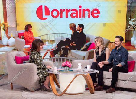 Editorial image of 'Lorraine' TV show, London, UK - 06 Jan 2020
