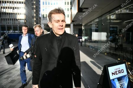 Stock Image of Seumas Milne arrives for a Labour Party NEC meeting in London.