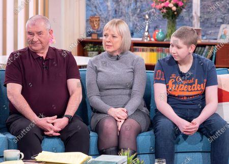 John McDonald and Allison McDonald with Ewan McDonald