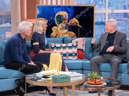 Phillip Schofield, Holly Willoughby, Alan Johnson