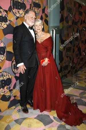 Stock Photo of Taylor Hackford, Helen Mirren