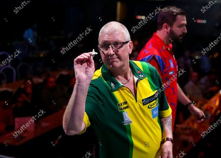 Stock Photo of Paul Hogan during the BDO World Professional Championships at the O2 Arena, London