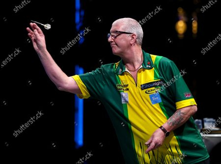 Stock Image of Paul Hogan during the BDO World Professional Championships at the O2 Arena, London