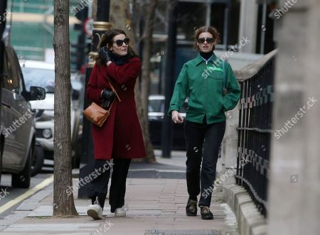 Editorial picture of Nigella Lawson out and about, London, UK - 06 Jan 2020
