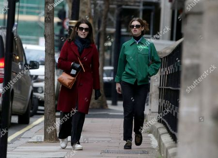Editorial image of Nigella Lawson out and about, London, UK - 06 Jan 2020