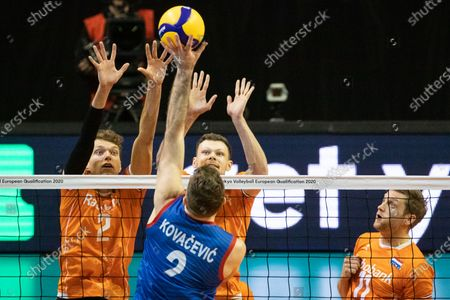 Editorial image of Continental Tokyo Volleyball Qualification 2020, Berlin, Germany - 06 Jan 2020