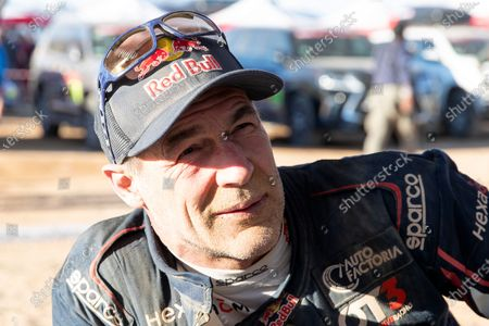 Stock Picture of Swiss Michael Horn look on after the stage two of the Rally Dakar 2020 between Al Wajh and Neom, at the Dakar Bivouac, in Saudi Arabia, 06 January 2020. The Rally Dakar takes place in Saudi Arabia from 05 to 17 January 2020.