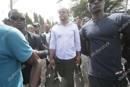 Editorial photo of Protest against corruption in Monrovia, Liberia - 06 Jan 2020
