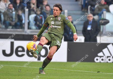 Luca Pellegrini of Cagliari Calcio