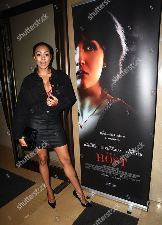 Editorial image of 'The Host' film premiere, The May Fair Hotel, London, UK - 06 Jan 2020