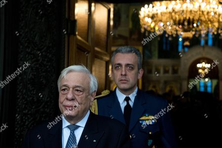 President of the Greek Republic, Prokopis Pavlopoulos attends the celebration of the Epiphany day.
