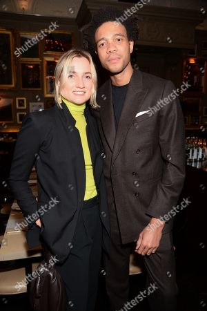 Editorial picture of GQ Mens Fashion Dinner, Inside, Berners Tavern, Fall Winter 2020, London Fashion Week Men's, UK - 06 Jan 2020